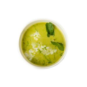 грахова крем супа с мента